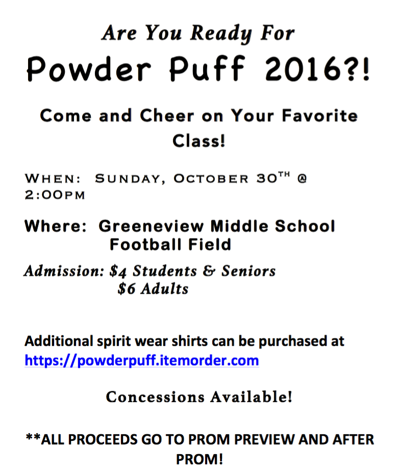 Powder Puff Apparel